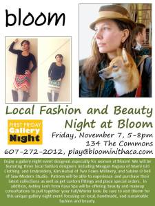 Local Fashion and Beauty Night at Bloom